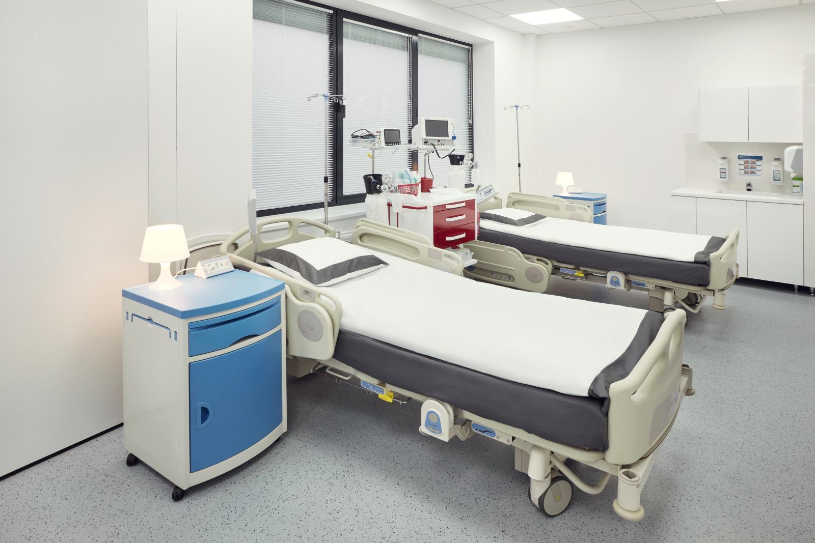 Sala pacjentów w oddziale